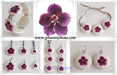Fashion Jewelry, Ceramic Jewelry, Costume Jewelry